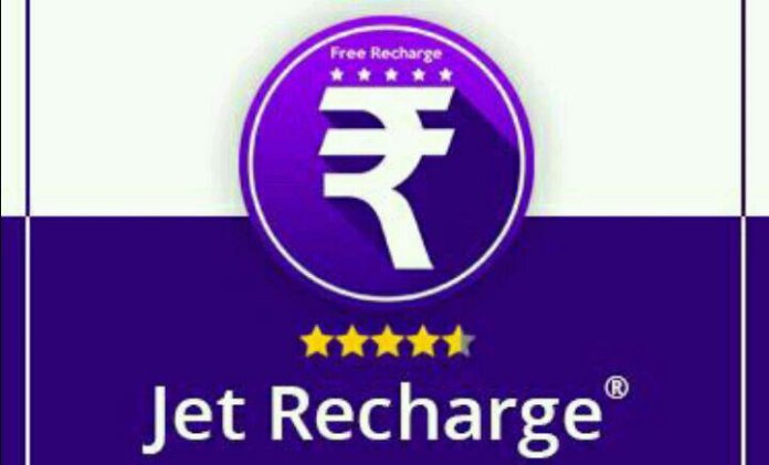 Jet Recharge App refer and earn paytm cash