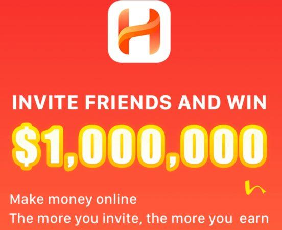 (*Loot Lo*) HaPo App - Get 1$ Per Refer + Free Bitcoins [Redeem in Bank]