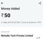 ShareChat App paytm proof