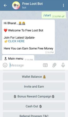 telegram paypal loot