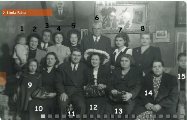 Kaynak: tireyahudileri.com ;Beja, Saba, Barşimantov, Düenya ve Saban ailelerinin toplu fotoğrafı