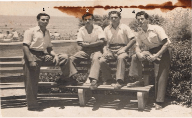 Kaynak: tireyahudileri.com ; AvşalomLevi, LiyaColodro, SalamonCanias ve RefailBeja (1950)
