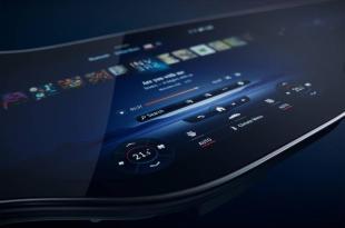 החשמליות הקרובות של מרצדס יעשו שימוש בתצוגת OLED גמישה בגודל 56 אינץ ', AVmaster