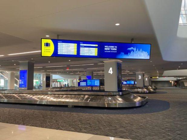 3,000 מסכי LG משדרגים את חוויית המעבר בשדה התעופה לה-גוארדיה, AVmaster