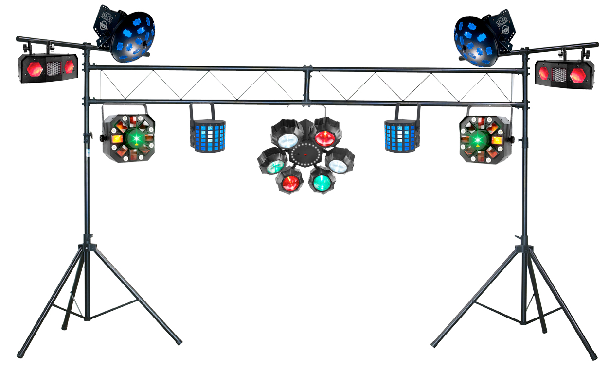 dj stage lighting packages best