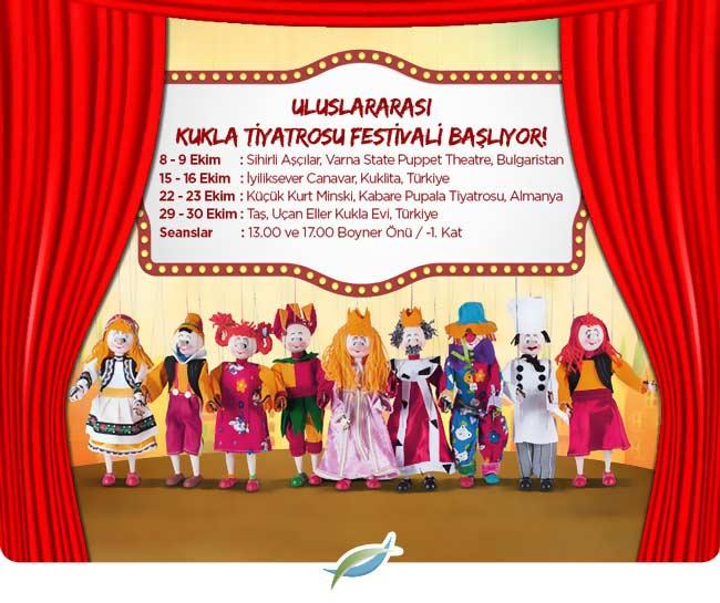 Uluslararası Kukla Tiyatrosu Festivali Akasya Acıbadem Avm'de