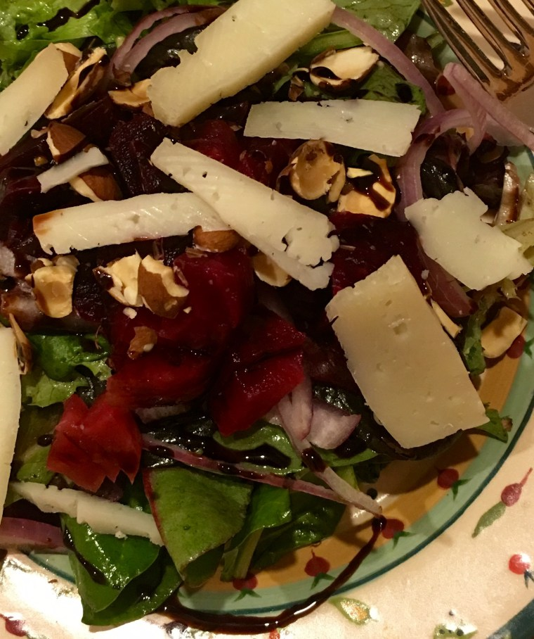 Beet Salad With Manchego