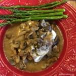 Mushroom Ambrosia Sauce with Halibut (1)