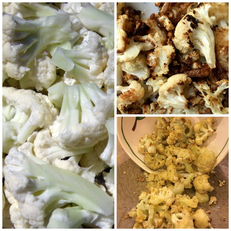 Cauliflower Popcorn with Yeast