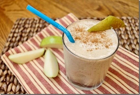 Cinnamon Pear Smoothie without Greens