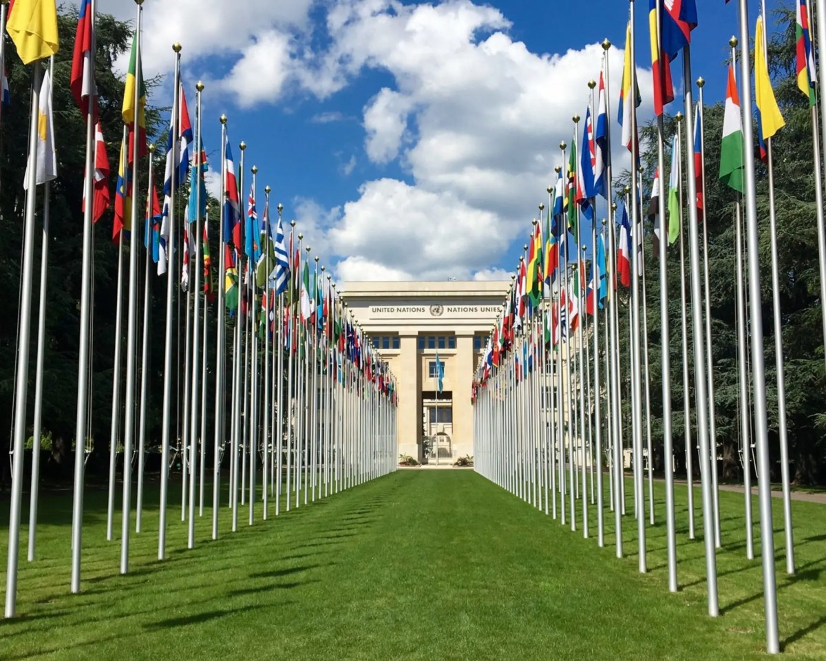 Palais des Nations unies à Genève - International and European Human Rights Law