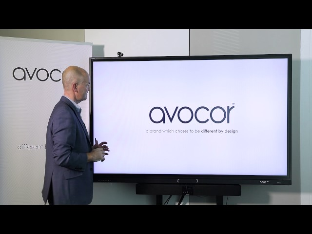 Avocor F series overview - product demonstration (English)
