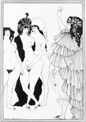 {Illustrations of Lysistrata}, Aubrey Beardsley, eBooks@Adelaide