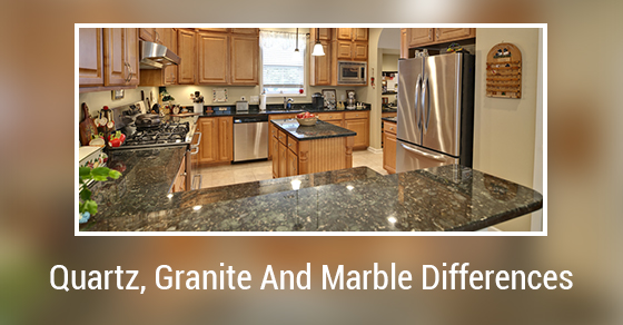 What Are The Differences Between Quartz Granite And Marble. Granite Vs Quartz  Countertops