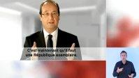 Hollande - Sarkozy : projet contre rejet