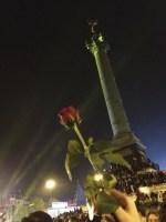 Une rose à la Bastille