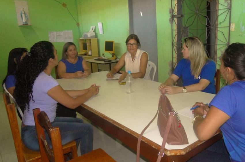ONG PACC e Escola Ceru de Palmatória receberam visita técnica de avaliadora do Prêmio Itaú Unicef