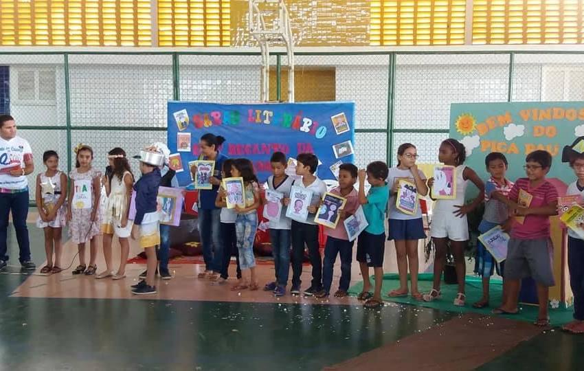 Escola Recanto da Criança realiza ações de fortalecimento a formação do leitor e de incentivo à leitura