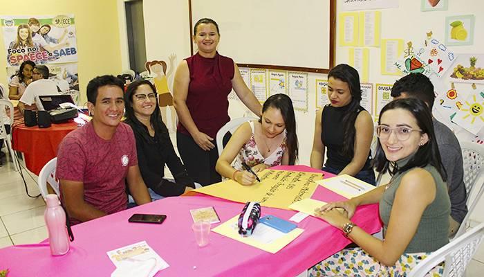 Secretaria de Educação de Itapiúna realiza formação continuada com professores de matemática do 4º e 5º ano