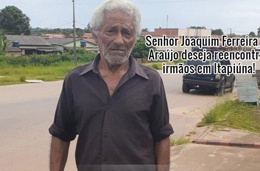 Itapiunense residente no Acre está há mais de 50 anos sem ver os irmãos