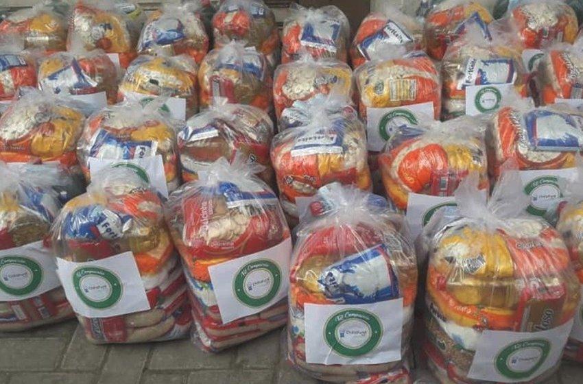 Mais de 2 mil famílias de Itapiúna e região serão beneficiadas com Kits de alimentos e produtos de limpeza