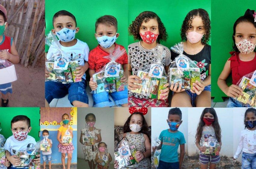 OSC CEACRI de Itapiúna realiza entrega de lembrancinhas em comemoração ao dia das crianças