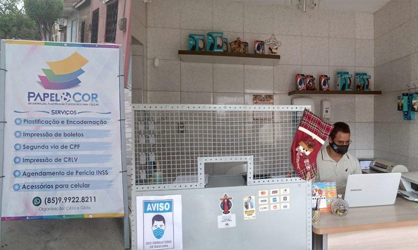 Venha conhecer: Papel & Cor encadernação, plastificação e acessórios para celular em Itapiúna