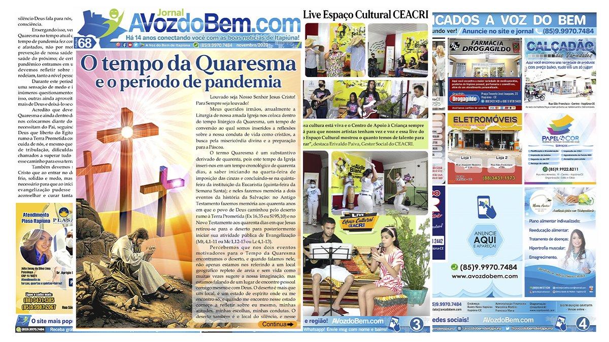 Edição 68 do jornal avozdobem.com
