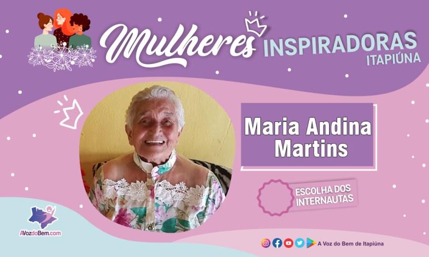 """Professora Maria Andina é destaque no quadro """"Mulheres Inspiradoras de Itapiúna"""""""