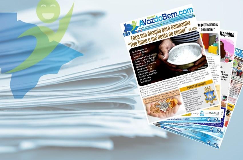 Chegou à edição 71 do jornal avozdobem.com de Itapiúna