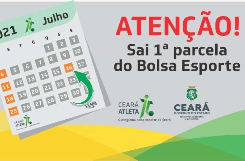 Sejuv inicia pagamentos das 4.020 bolsas do Programa Ceará Atleta