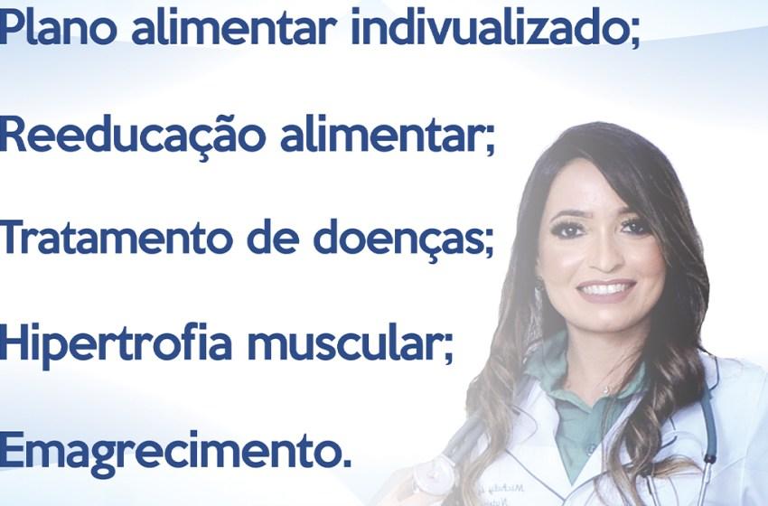 Nutricionista Dra. Michely Arcelino