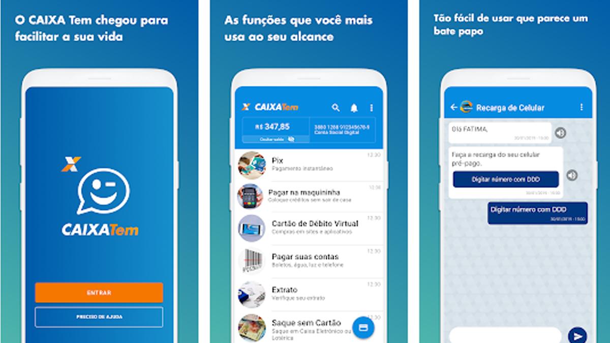 Saiba como fazer empréstimo de até R$ 1.000 no aplicativo CAIXA TEM