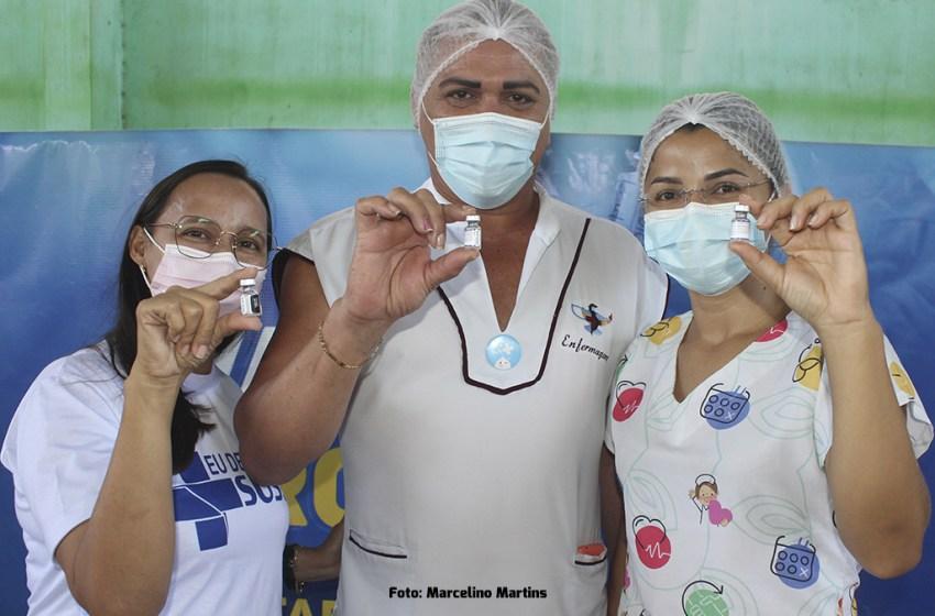 Secretaria da Saúde de Itapiúna realizará aplicação da segunda dose das vacinas Astrazeneca e Coronavac