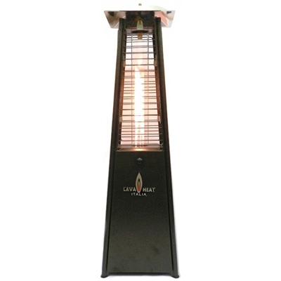 heater pyramid flame table top