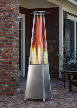 Heater Pyramid Flame Av Party Rental