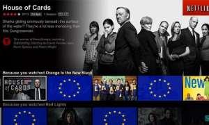 Netflix producciones europeas