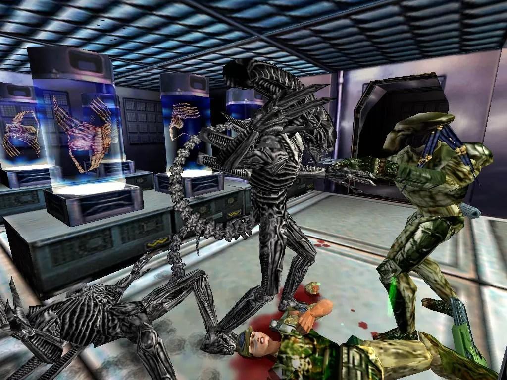 Aliens Versus Predator AvP1 1999 Fox Rebellion PC