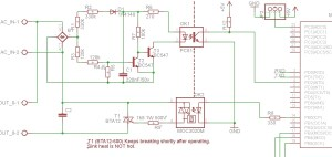 TRIAC breaking, what am I missing? | AVR Freaks