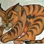 painting of my lovely tabby cat richard iii