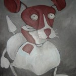 robot dog called mogwai, painted for a freind