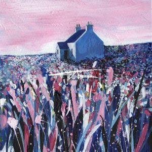 Avril Thomson Smith Croft House Painting Unst