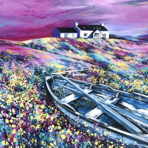 Avril Thomson Smith Shetland Croft house painting