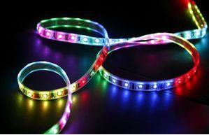 LED-spotter og strips