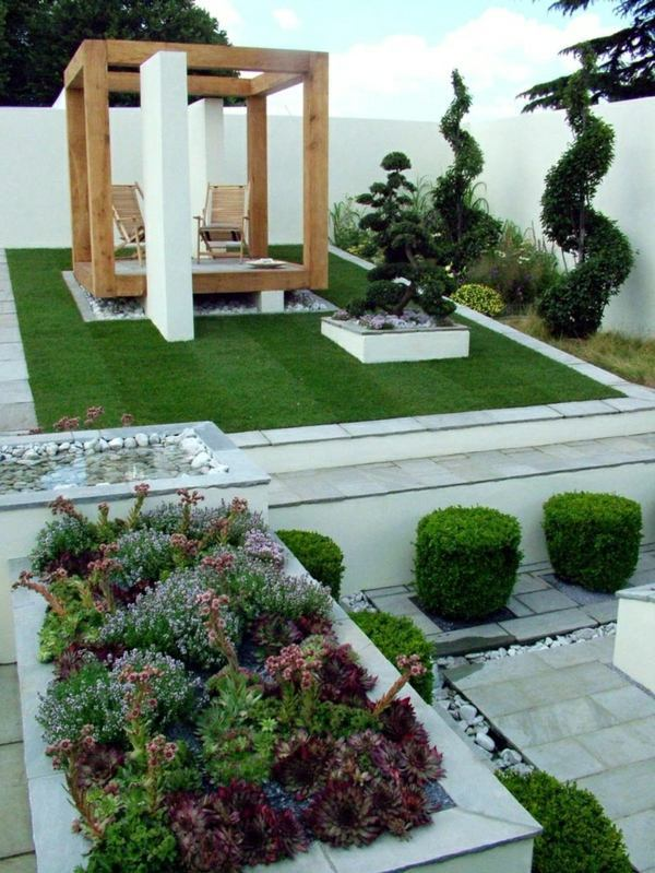 25 trendy ideas for garden and landscape - modern garden ... on Modern Backyard Landscape Ideas id=96049
