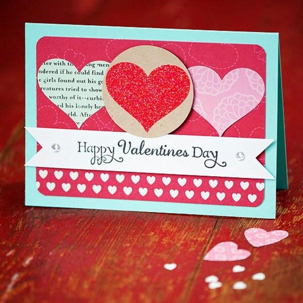 32 Ideas For Handmade Valentines Day Card Interior
