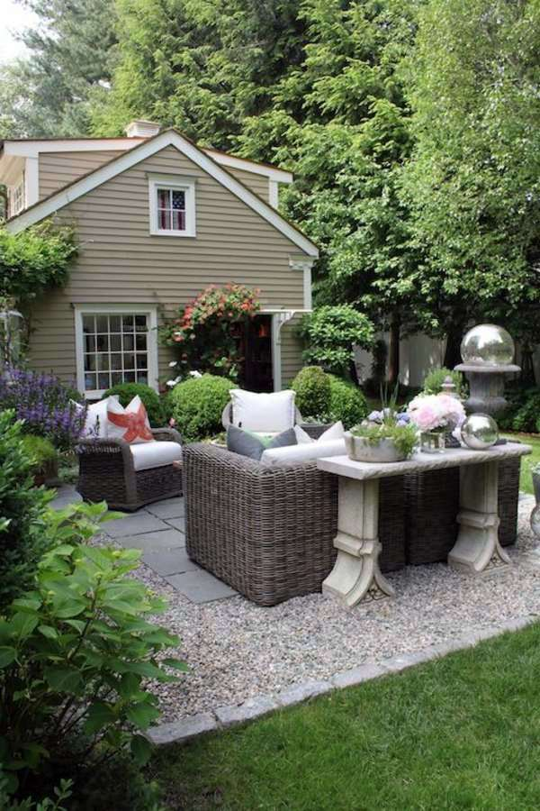 Landscaping with gravel and stones - 25 garden ideas for ... on Backyard With Gravel Ideas id=48300