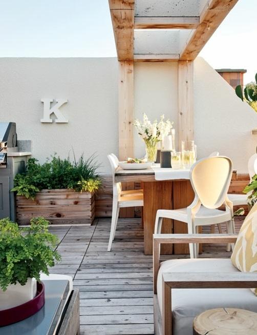 Garden Decoration Ideas - modern, rustic backyard design ... on Rustic Backyard Ideas id=71480