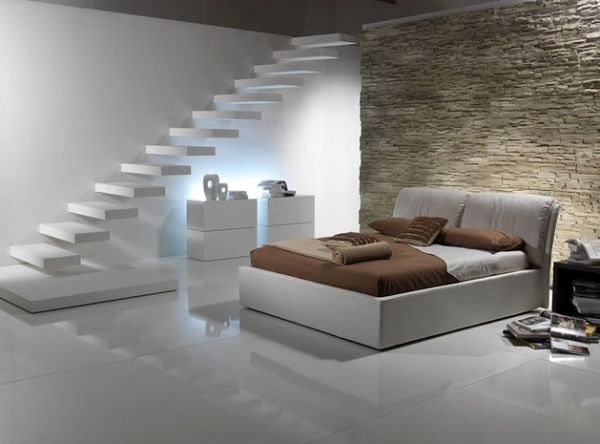 32 Floating Staircase Ideas For Contemporary Home Interior | Staircase Designs For Homes | Concrete | Contemporary | Modern | Round | Luxury