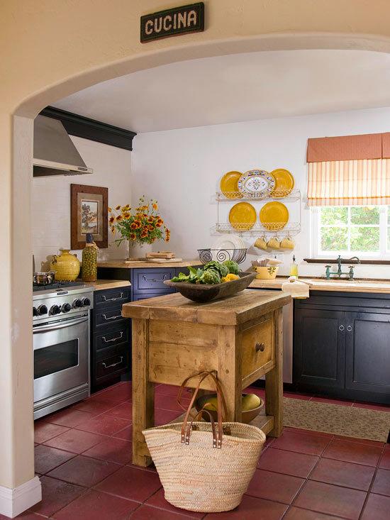 Kitchen island ideas for small space   Interior Design ... on Small Space Small Kitchen Ideas  id=88128